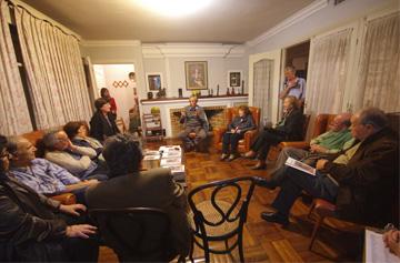Juan Castillo nos visita Coloquio sobre «El Frente Amplio y avanzar en democracia» (audio)